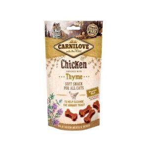 Carnilove Prémium Snack cicáknak – csirkével és kakukkfűvel 50 g