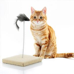 Macskakaparó játék egérrel