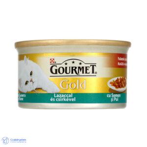 Gourmet Gold szószban – lazac és csirke 85 g