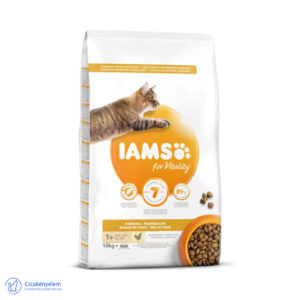 IAMS Hairball control száraz táp – csirkével