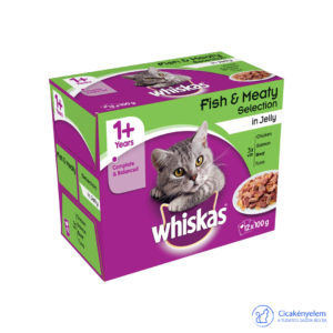 Whiskas alutasakos multipack 12 db