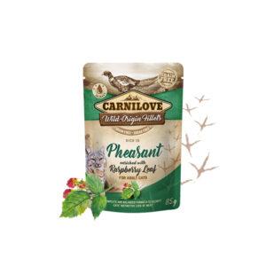 Carnilove Prémium pástétom – fácán és málnalevél 85 g