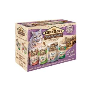 Carnilove Prémium Pástétom Multipack 12 x 85 g