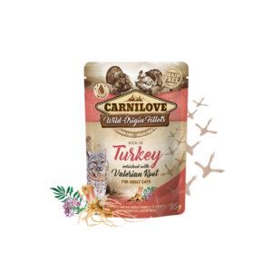 Carnilove Prémium Pástétom – pulyka és macskagyökér 85 g
