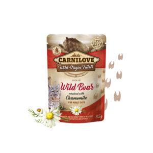Carnilove Prémium Pástétom – vaddisznó és kamilla 85 g